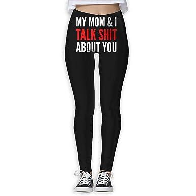 Seems my mom in yoga pants