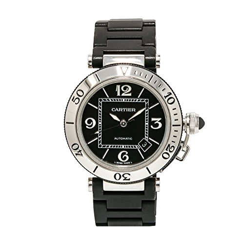 Cartier-Pasha-automatic-self-wind-mens-Watch-2790-Certified-Pre-owned