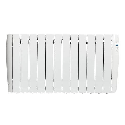 Haverland RC12M - Radiador Digital Fluido Bajo Consumo, 1500 de Potencia, 12 Elementos, Programable, Exclusivo Indicador de Consumo, Pantalla Temperatura ...