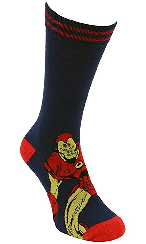 i-Smalls Socken der M/änner Marvel Avengers Iron Man Hulk Thor Spiderman Captain America Socken EUR 39-45