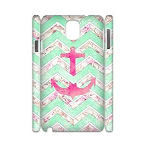 VNCASE Anchor Chevron Phone Case For samsung galaxy note 3 N9000 [Pattern-1]