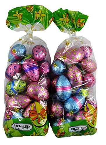 Riegelein Confiserie New Milk Chocolate Easter Eggs Bags - Two 8.46 OZ Bags