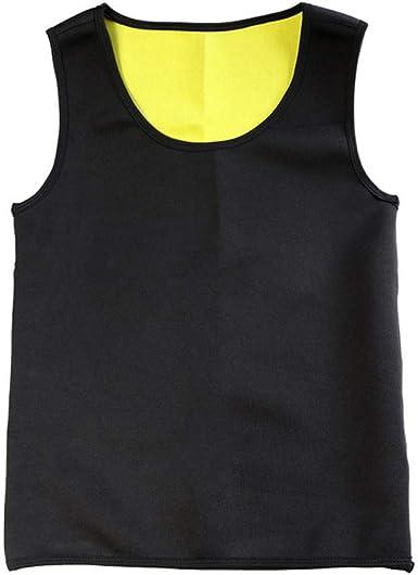 Chaleco de Sauna Camisetas sin Mangas para Adelgazar Camisa de Entrenamiento de Neopreno Quemador de Grasa Pérdida de Peso Recortador de Cintura: Amazon.es: Ropa y accesorios