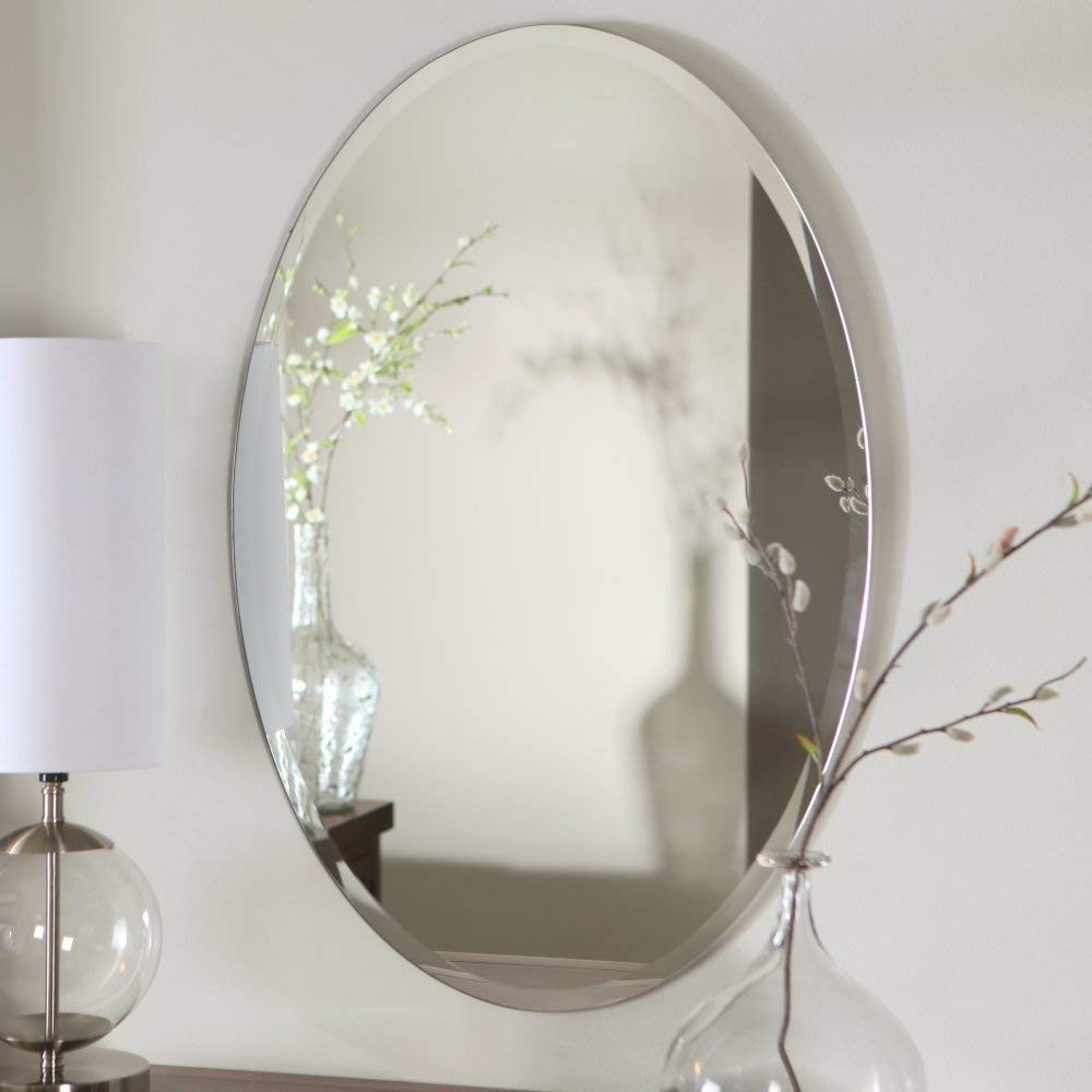 Buy Quality Glass Glass Mirror For Wall 18 X 24 Inch Silver Online At Low Prices In India Amazon In