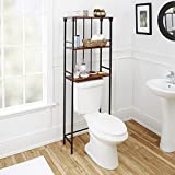"""Silverwood Mixed Material Bathroom Collection 3-Tier Spacesaver 3, 66"""" H, Oil Rubbed Bronze"""