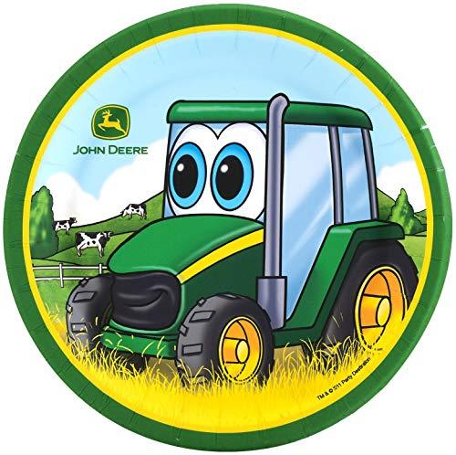 BirthdayExpress John Deere Johnny Tractor - Dessert Plate (24) ()