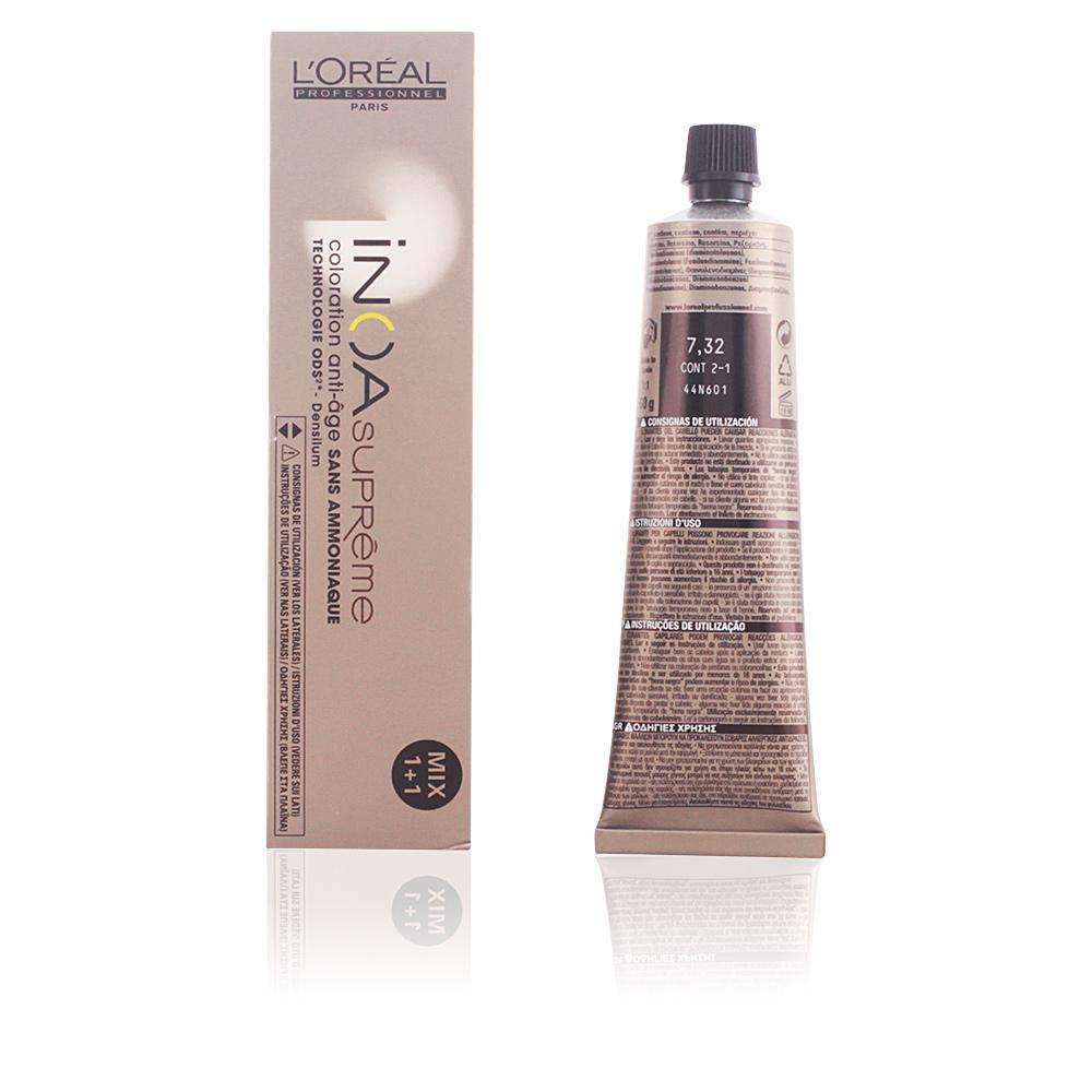 L'Oréal Professionnel INOA Supreme Coloración, Tono 7.32-60 gr