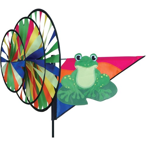 Triple Wind Spinner Armed Forces - Green Frog B004QJD2M4