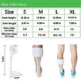 Orthomen Ankle Foot Orthosis Support - AFO Splint - Drop Foot Brace