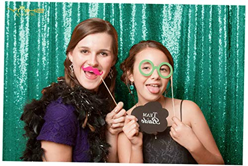 Gatton Sequin Backdrop 4FTx6FT-Green Backdrop Photography and Photo Booth Backdrop - 4FTx6FT(48inx72in) (Green) | Model WDDNG - 596 | 4FTx6FT