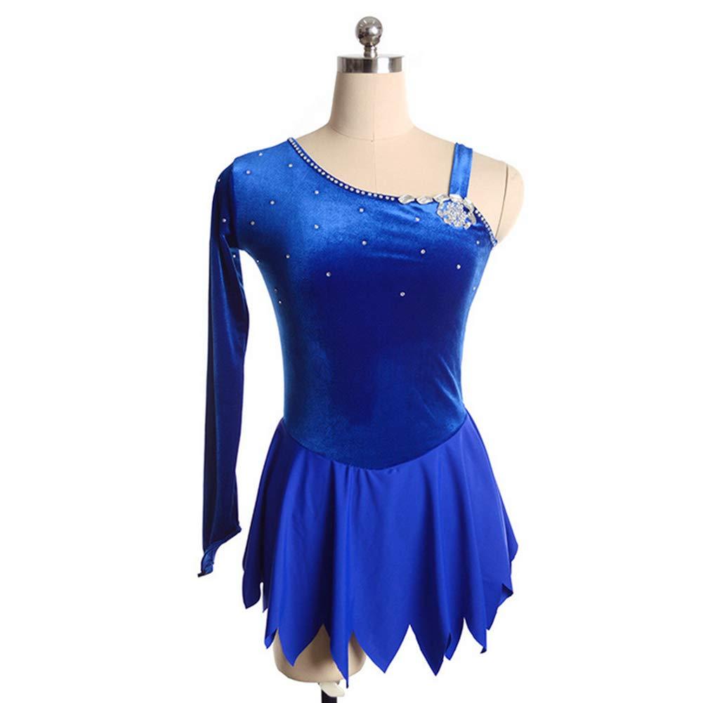 YUEZHIMEI Eiskunstlaufkleid für Mädchen Frauen Eislaufen Performance Kostüm Professionell Professionell Professionell Stretch Breathable B07MW2GXVJ Bekleidung König der Menge 0cd787