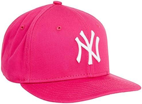 b9f2dfae7 New Era Girl's Kids MLB Basic NY Yankees 9Fifty Fitted Cap, Hot Pink ...