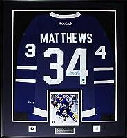 Auston Matthews Toronto Maple Leafs Signed Jersey NHL Hockey Collector Frame