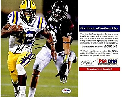 size 40 d19e4 f9ceb Amazon.com: Michael Ford Autographed Signed LSU Tigers 8x10 ...