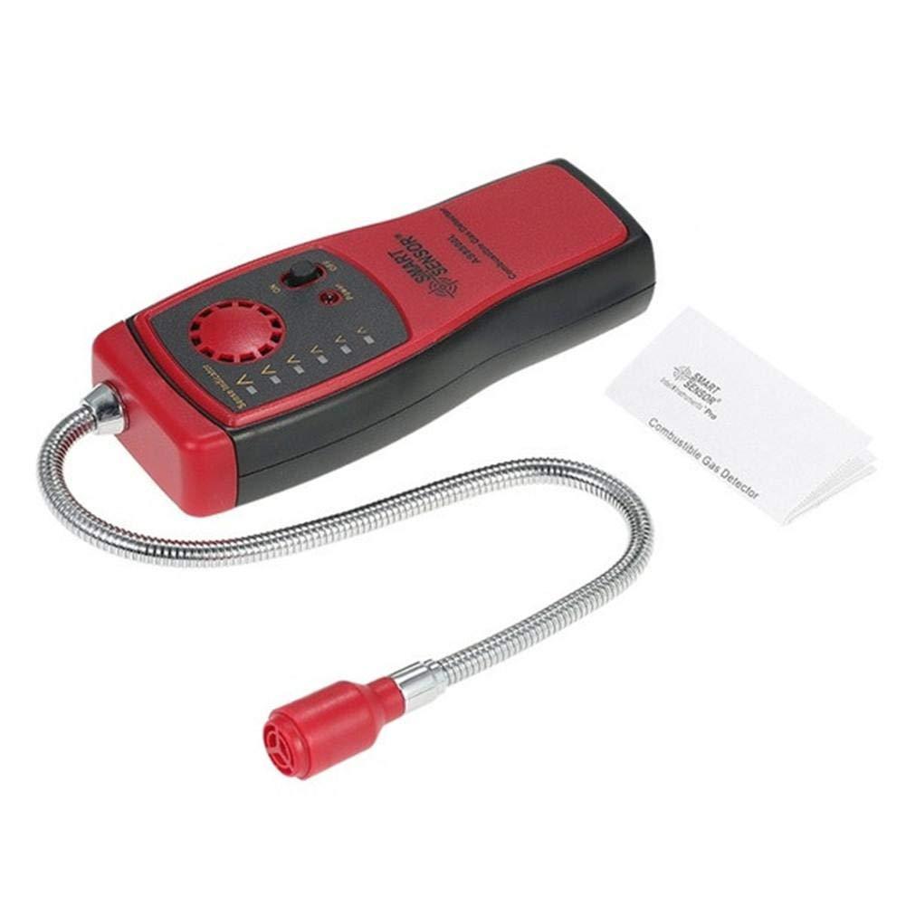 Biback Analizador de Gas Auto Detector de Coche Dispositivo de Prueba para brennbares Gas Fuga Lugar para Fugas Determine el diagnóstico Herramientas: ...