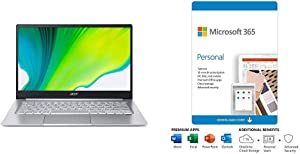 "Acer Swift 3 Thin & Light Laptop, 14"" Plus Microsoft 365 Personal 12 Month, Auto-Renewing Subscription"