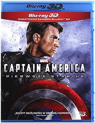 Captain America: The First Avenger Blu-Ray + Blu-Ray 3D Region B ...