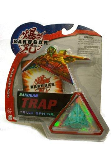Bakugan B2 New Vestroia Bakuneon - Special Attack TRAP - VENTUS (Green) TRIAD SPHINX - FACTORY SEALED