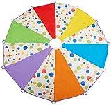 10 Feet Children's Wonder Parachute Polka Dot Design 6 Colors