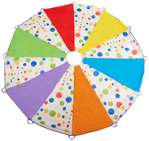 10 Feet Children's Wonder Parachute Polka Dot Design 6 Color