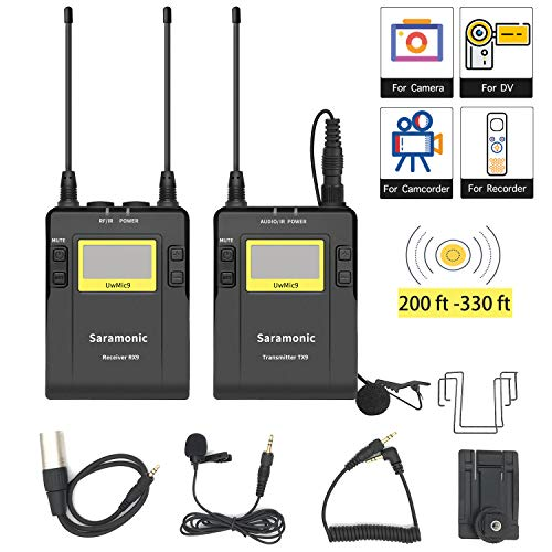 UHF Wireless Lavalier Microphone