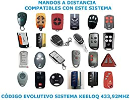 KIT 1 RECEPTOR UNIVERSAL 500 USUARIOS + 2 MANDOS GARAJE MOTORLINE FALK 433MHZ PARA PUERTAS AUTOMATICAS DE GARAJE: Amazon.es: Bricolaje y herramientas