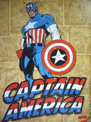Captain-America-Comic-Distressed-Retro-Vintage-Tin-Sign