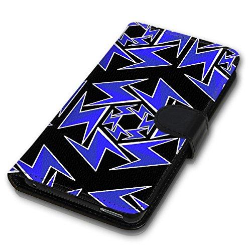 Wallet Book Style Flip Handy Tasche Case Schutz Hülle Schale Motiv Etui für Apple iPhone 4 / 4S - Design Flip MVD89