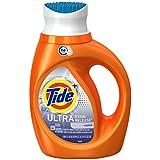 Tide Plus HE Ultra Stain Release Original Scent Liquid Laundry Detergent, 40 fl oz