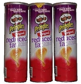Pringles Reduced Fat Flavored Potato Crisps (B00QBZF81O