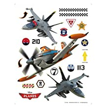 Planes Poster-Sticker Wall-Tattoo - Dusty, Echo And Bravo (26 x 17 inches)