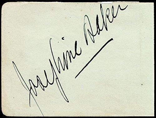 Josephine Baker – Signature