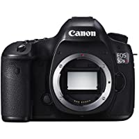 Canon EOS 5DS R DSLR Camera Body, 50.6MP, Low-Pass Filter Effect Cancellation, 3.2 ClearView II LCD Display, Audio Out, Canon N3, HDMI C (Mini), USB 3.0