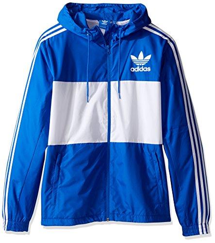 adidas Originals Men's California Windbreaker, Blue, X-Large