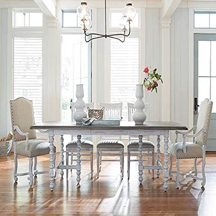 Paula Deen Home Dogwood Extendable Dining Table In Blossom