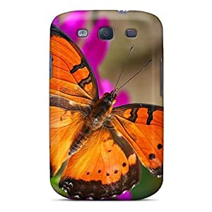 High Quality Phone Cases For Samsung Galaxy S3 With Custom Colorful Butterfly Series KerryParsons