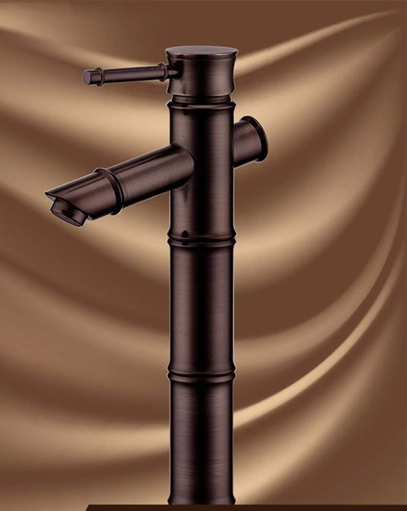 8 Hlluya Professional Sink Mixer Tap Kitchen Faucet Copper, Single Hole, washing your face, hot and cold, wet cock 8