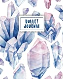 img - for Bullet Journal: Blue Gemstone Watercolor | 150 Dot Grid Pages (size 8x10 inches) | with Bullet Journal Sample Ideas book / textbook / text book