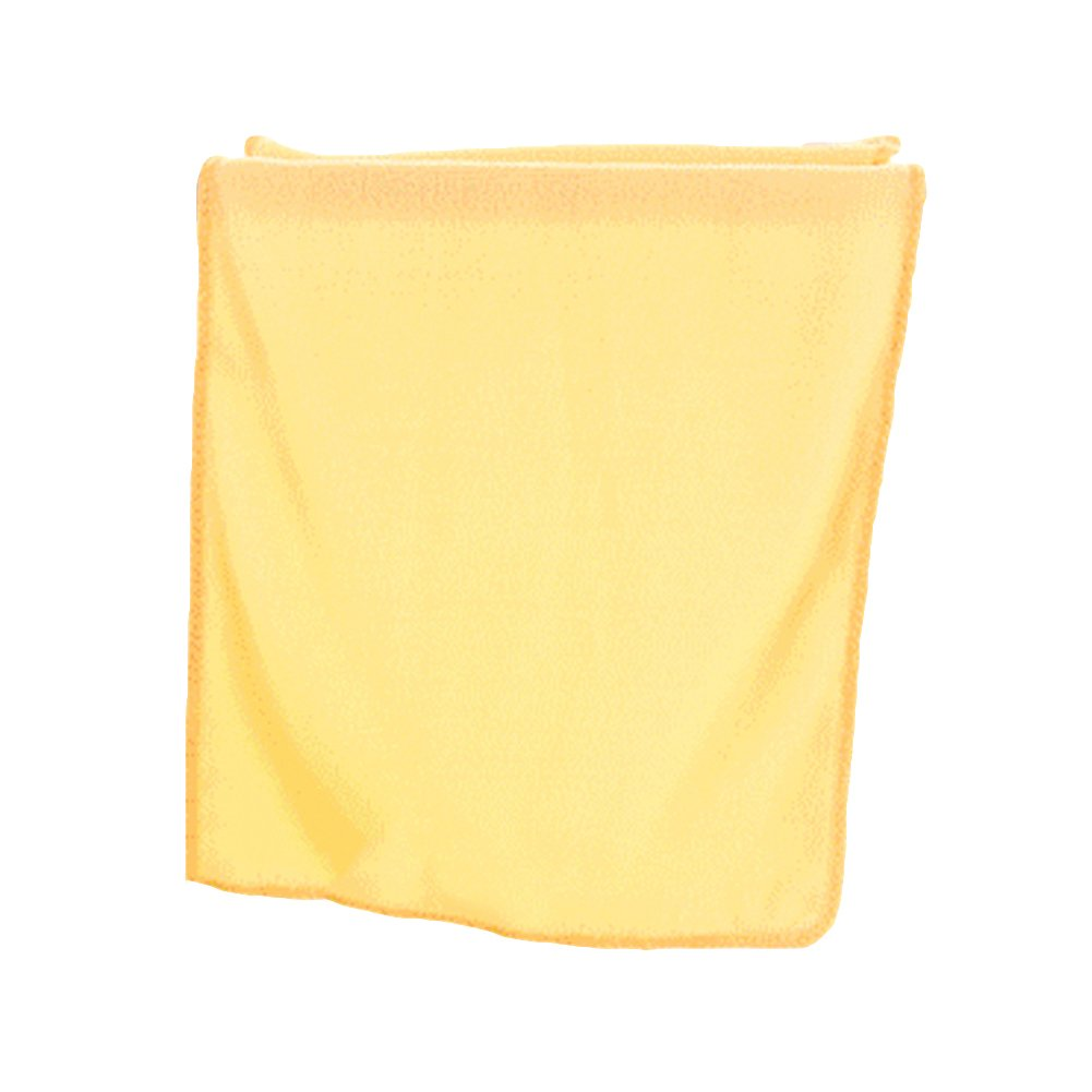 Dry Hair Towel gLoaSublim Water Absorbent Microfiber Towel Car Washing Solid Color Fast Drying Hand Towel - Orange