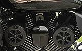 INDFBK-1 Love Jugs Cool Master Flat Black Engine Cooling System for 2014-Newer Indian Models
