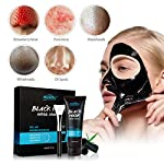 Black Mask-Blackhead Removal Mask Peel Off Facial Black Mask 3.5oz(100G) Pore Control, Skin Cleansing, Purifying Bamboo Charcoal With Blackhead Remover Extractor Tools Kit & Mask Brush(BlackMask)
