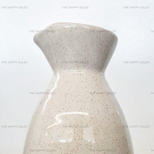 Happy Sales 5 piece Ceramic Sake Set - Off White by Happy Sales (Image #2)
