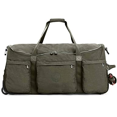8d88864b81db Amazon.com  Kipling Discover Large Wheeled Duffle Bag
