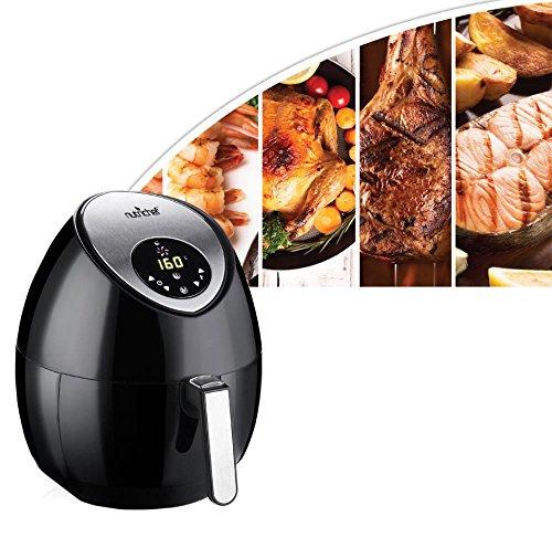 Nutrichef Electric Hot Air Fryer Oven W Digital Display