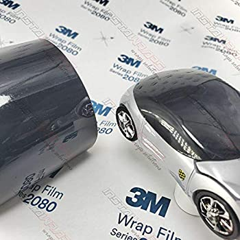 3M 1080 Gloss Black   G12   Vinyl CAR WRAP Film (Sample 2.5in x 4in)