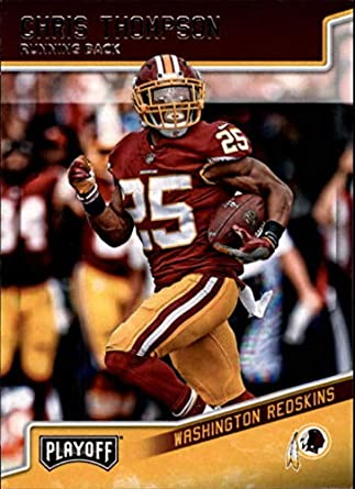 2018 Panini Playoff  198 Chris Thompson Washington Redskins NFL Football  Trading Card 466a5593f