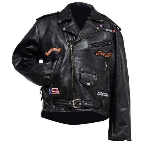 Leather Motorcyle Jacket - 2