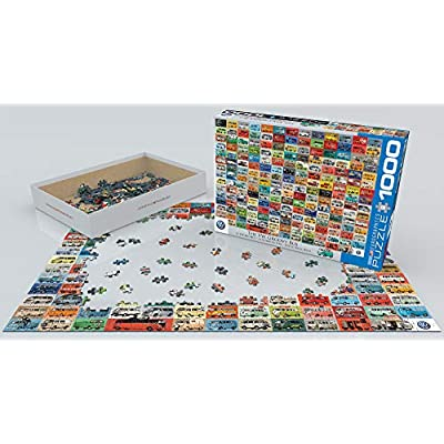 EuroGraphics Volkswagen Groovy Bus Puzzle (1000 Piece): Toys & Games