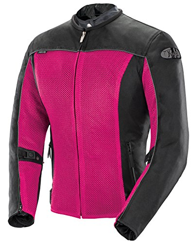 Joe Rocket Velocity Women's Mesh Motorcycle Jacket (Pink, ()