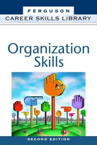 Organization Skills (Career Skills Library) pdf